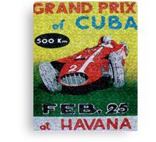 CUBAN CIGAR LABELS Canvas Print