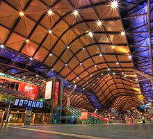 Southern Cross Station - HDR by Dale Allman