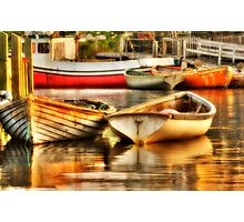 Morning Dories Photographic Print