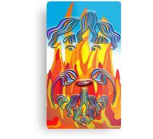 Obidiah Fire Metal Print