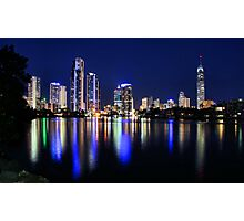 Gold Coast Blues  Photographic Print