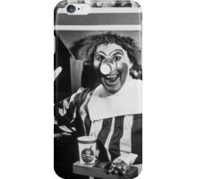 Ronald Creepy A$$ McDonald iPhone Case/Skin