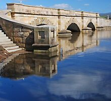 Convict-built bridge at Ross in the Midlands by Mark Whittle