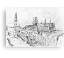Gdansk panorama Metal Print