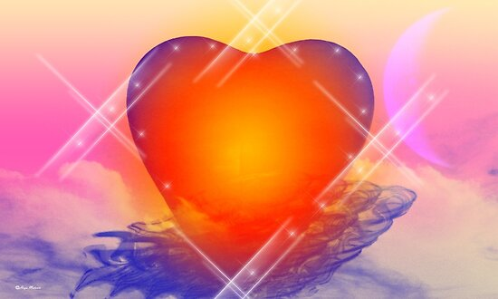 love shine a light- Abstract Art + products Design  by haya1812