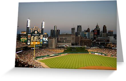Comerica Park / The New Tiger's Stadium / Baseball in Detroit by utzuki
