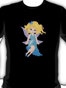 Beautiful Fairy in a blue dress T-Shirt