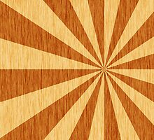 woodgrain starburst by thuyo