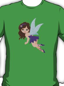 Beautiful Fairy  in a violet dress T-Shirt