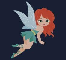 Red-haired fairy in a turquoise dress Kids Clothes