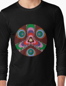 Psychedelic Eyes Long Sleeve T-Shirt
