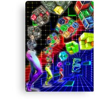 Rubik's Revenge Canvas Print