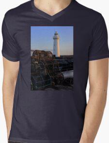 First Light Mens V-Neck T-Shirt