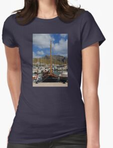 Let's Go Sailing Womens Fitted T-Shirt