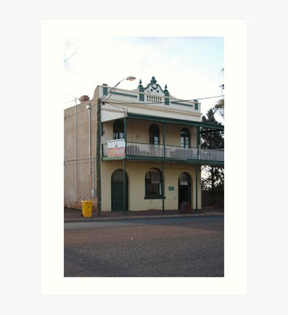 Menzies Hotel Art Print