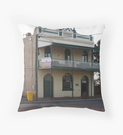 Menzies Hotel Throw Pillow