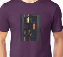 Vintage Bookshelf Unisex T-Shirt