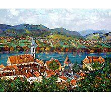Durnstein, Austrian Landscape Photographic Print