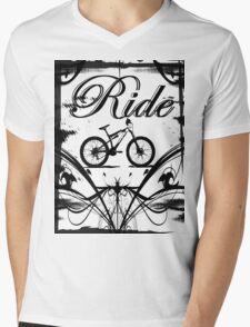 Ride2 Mens V-Neck T-Shirt