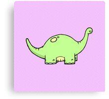 Eric the Dinosaur Canvas Print