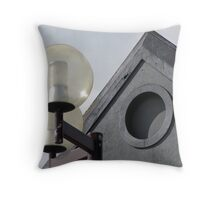 New and Old Shapes Throw Pillow