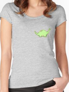 Eric the Dinosaur Women's Fitted Scoop T-Shirt