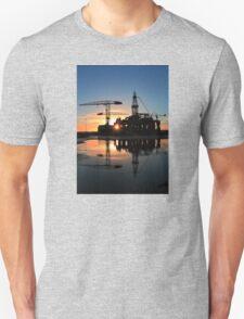 Blackford Dolphin Sunrise Unisex T-Shirt