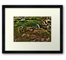 Tired and Achy Feet Framed Print