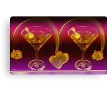 Happy Hour- Art + Design products Canvas Print