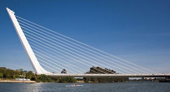 Alamillo Bridge, Sevilla, Spain by jmhdezhdez