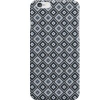 Abstract retro geometric black pattern seamless. iPhone Case/Skin