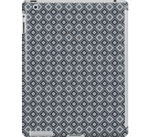 Abstract retro geometric black pattern seamless. iPad Case/Skin