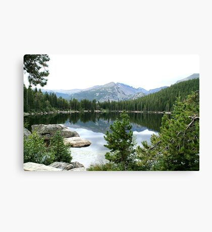 Bear Lake in Rocky Mountain National Park Canvas Print