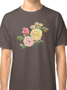 Pastel Roses Classic T-Shirt