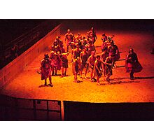 Slaves on the way to the Galley: Seeing Red Photographic Print