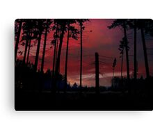 SKY FIRE 2 Canvas Print