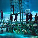 Boat in a Sea of Mist: Ben Hur Show: The Slave Galley by DonDavisUK