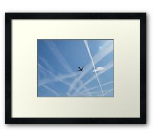 Why Don't Male Drivers Ever Ask Directions ? Framed Print