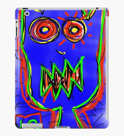 """Don't Whiz on the Electric Fence"" by Richard F. Yates iPad Case/Skin"