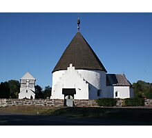 Ny Church, Nyker, Bornhol, Denmark Photographic Print
