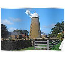 Callington Mill at Oatlands Poster