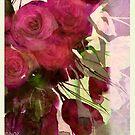 dusk roses by aquaarte