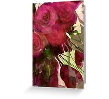 dusk roses Greeting Card