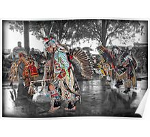 Tribal Dance  (Pow Wow Series) Poster