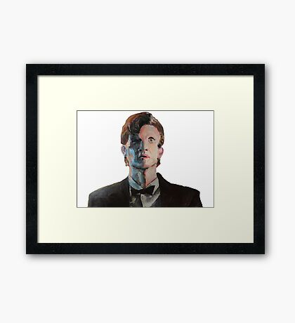 never met anyone who wasn't important Framed Print