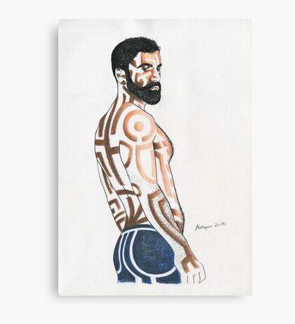 Fine man Canvas Print