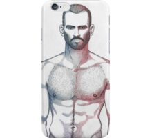 Lean man iPhone Case/Skin