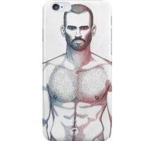 Lean man iPhone Case/Skin