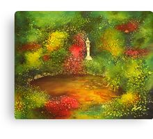 Japanese Pond Canvas Print