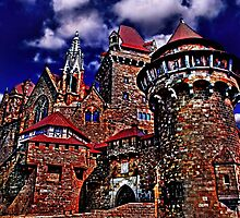 Kreuzenstein Castle Austria Fine Art Print by stockfineart